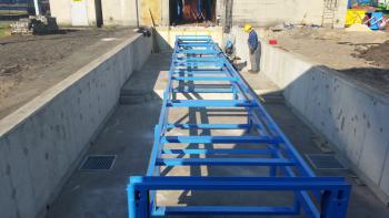 Projekt i prowadzenie budowy fundametów pod taśmociągi  PGE Opole