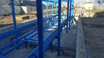 Projekt i prowadzenie budowy fundamentów pod taśmociagi PGE Opole