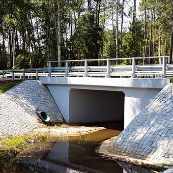 Projekt mostu w km 2+450 DW426