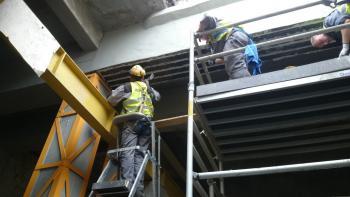 Projekt wzmocnienia stropów taśmami węglowymi EDF