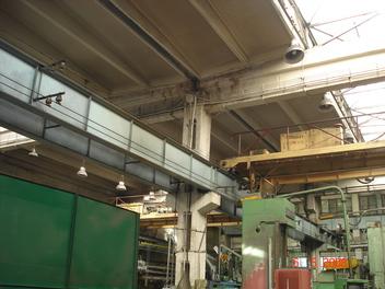 Ekspertyzy techniczne estakad Q=3t-Q=20t fabryka silników Zamer w Żychlinie