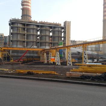 Projekt przebudowy estakady w Elektrowni Rybnik