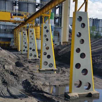 Projekt przebudowy konstrukcji estakady w Elektrowni Rybnik