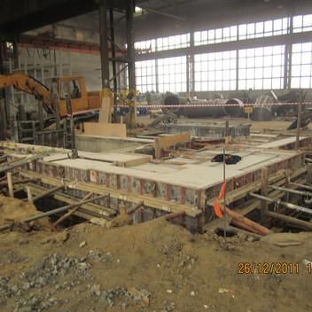 Projekt fundamentu pod linię produkcyjną Niemodlin