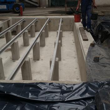 Projekt fundamentu pod malarnię Jelcza Laskowice