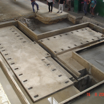 Projekt fundamentu pod wytaczarkę TOS