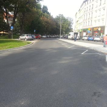 Nadzór nad przebudowa ulicy Szopena w Nysie