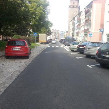 Nadzór nad przebudową ulicy Szopena w Nysie