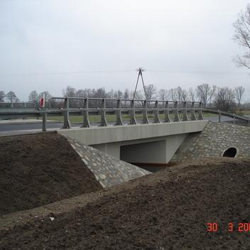 Pełnienie nadzoru inwestorskiego most km 14+002 DK15 w Kuźniczysku