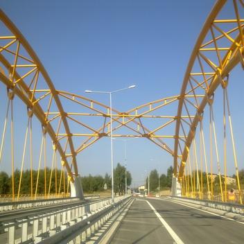 Nadzór nad obiektami mostowymi w ciągu A1 Gorzyczki - Granica Państwa