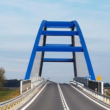 Nadzór nad budowa mostu MD02 w ciągu obwodnicy Czarnowąs