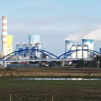 Nadzór nad budowa mostu MD04 w ciągu obwodnicy Czarnowąs