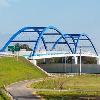 Nadzór nad budową mostu MD04 w ciagu obwodnicy Czarnowąs