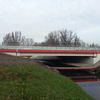 Nadzór nad budową mostu w ciagu ulicy Kotucza Rybnik