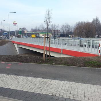 Nadzór nad budową mostu w ciągu ul Kotucza w Rybniku