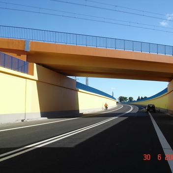 Nadzór nad budową wiaduktu sprężonego  kolejowego trasa Warszawa-Berlin