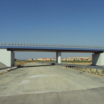 Nadzór nad obiektami mostowymi w ciągu obwodnicy Nowych Skalmierzyc wiadukt W5