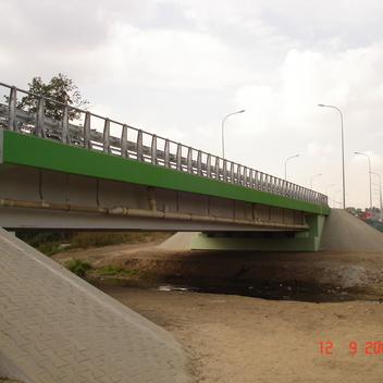 Nadzór nad budowa mostu nad rz. Rawka w ciagu obwodnicy Rawy Mazowieckiej