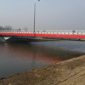 Nadzór nad budową mostu w ciągu ul Podmiejskiej