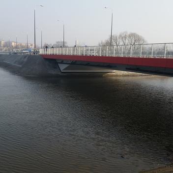 Nadzór nad budową mostu w ciągu ul. Podmiejskiej