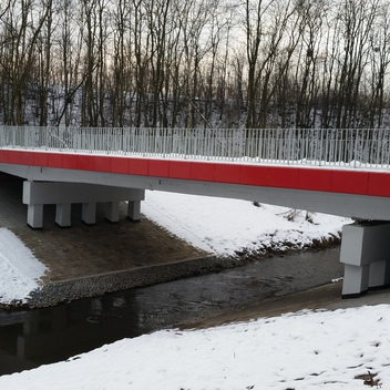 Nadzór nad przebudową mostu w ciągu ul. Sportowej w Rybniku