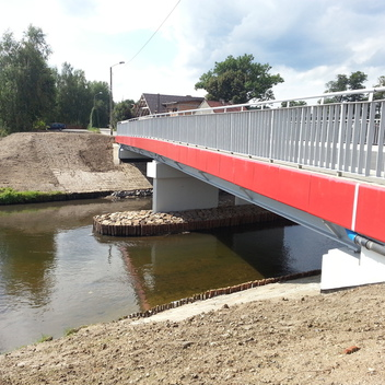 Nadzór nad budową mostu w ciągu ul. Stalowej w Rybniku