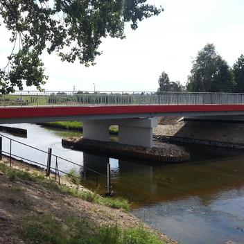 Nadzór nad przebudowa mostu w ciągu ul. Stalowej w Rybniku