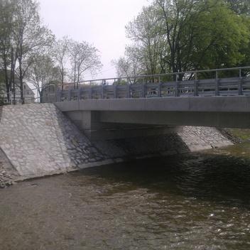 Projekt mostu w Dziewiętlicach