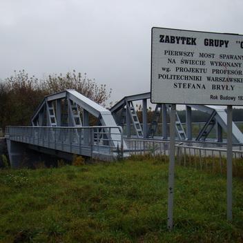 Projekt remontu pierwszego mostu spawanego prof. Bryły zabytek kl.0