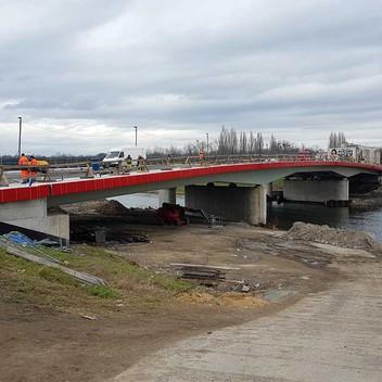 Nadzór inwestorski most wzdłuż ulicy Niemodlińskiej w Opolu
