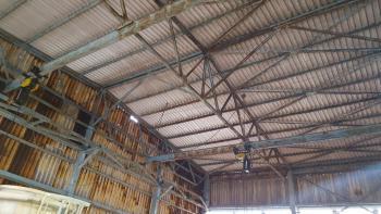 Ekspertyza konstrukcji dachu hali produkcyjnej Złotniki Wrocław