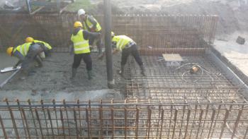 Betonowanie fundamentów PGE Opole